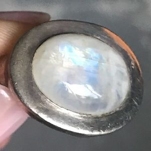 Jewelry - Ghost Opal and 925 Silver Ring